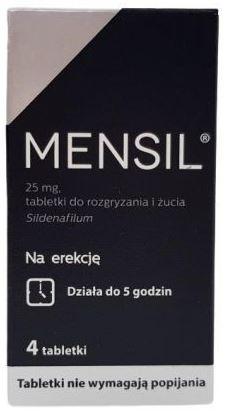 Zawalcz o swoje życie seksualne z lekiem Mensil!